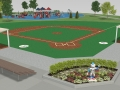 Miracle League field start a